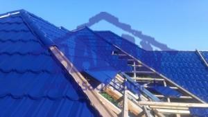 مراحل نصب سقف شیبدار